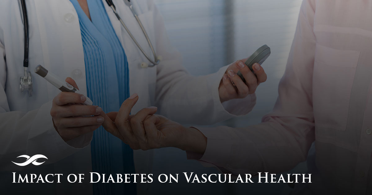 Impact of Diabetes on Vascular Health